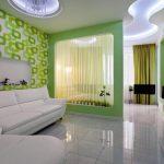 Фото 72: Спальня и гостиная