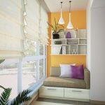 Фото 56: Тахта на балконе
