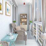 Фото 60: Уютный балкон в квартире