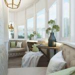 Фото 61: Уютный балкон