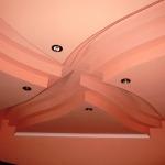 Фото 72: Фигурный потолок фото