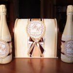 Фото 20: Декор свадебного шампанского