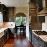 Фото 7: Дизайн кухни в частном доме