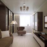 Фото 22: Интерьер комнаты гостиная