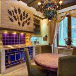 Фото 23: Интерьер кухни в доме