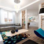 Фото 26: Интерьер маленькой квартиры