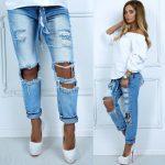 Фото 25: Красивые дырки на джинсах