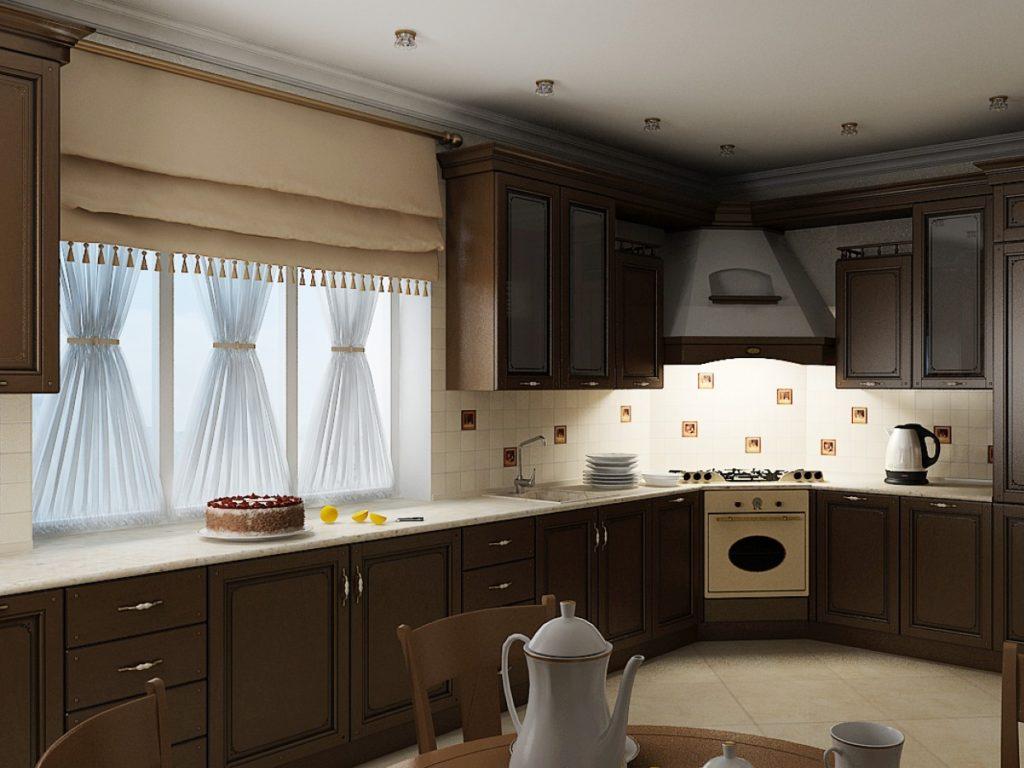 балканах кухни в доме с окном фото боимся