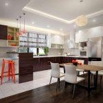 Фото 44: Кухня-столовая интерьер