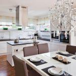 Фото 39: Кухня студия в доме