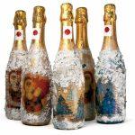 Фото 7: Новогодний декупаж бутылок