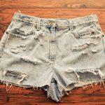 Фото 31: Ободранные джинсы