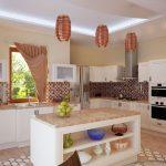 Фото 52: Планировка кухни