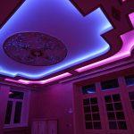 Фото 61: Потолок подсветка