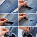 Фото 39: Рваные джинсы фото