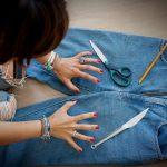 Фото 43: Старые джинсы
