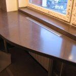 Фото 34: Стол из подоконника
