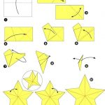 Фото 4: Схема объемной звезды своими руками