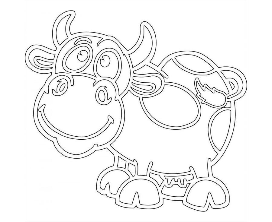 Вытынанка бык