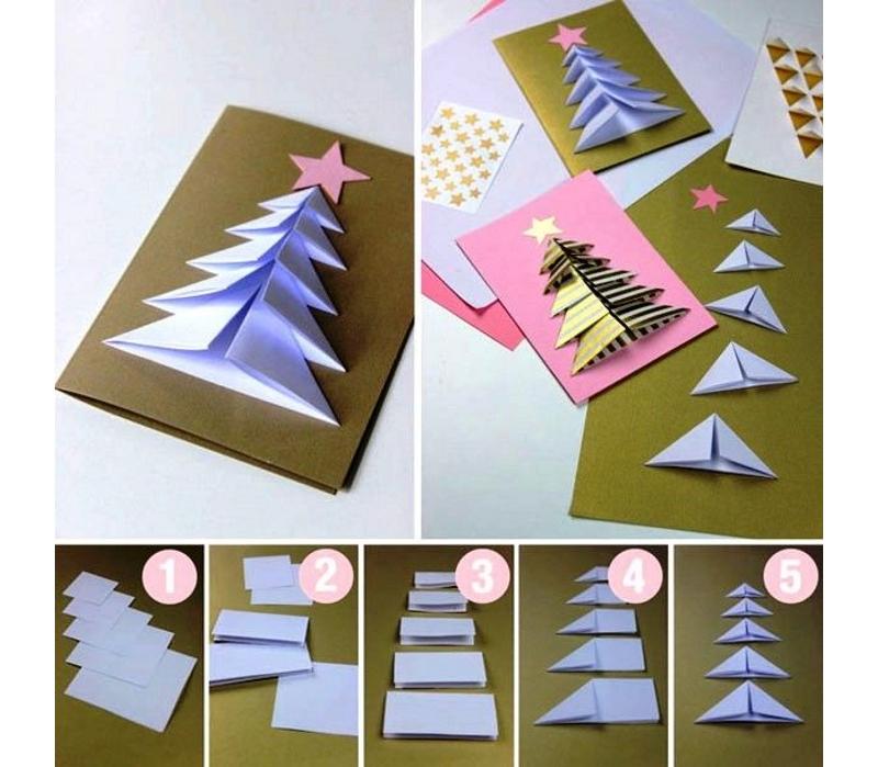 Сделать открытку на Новый Год