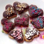 Фото 114: Печенье сердечки с посыпкой