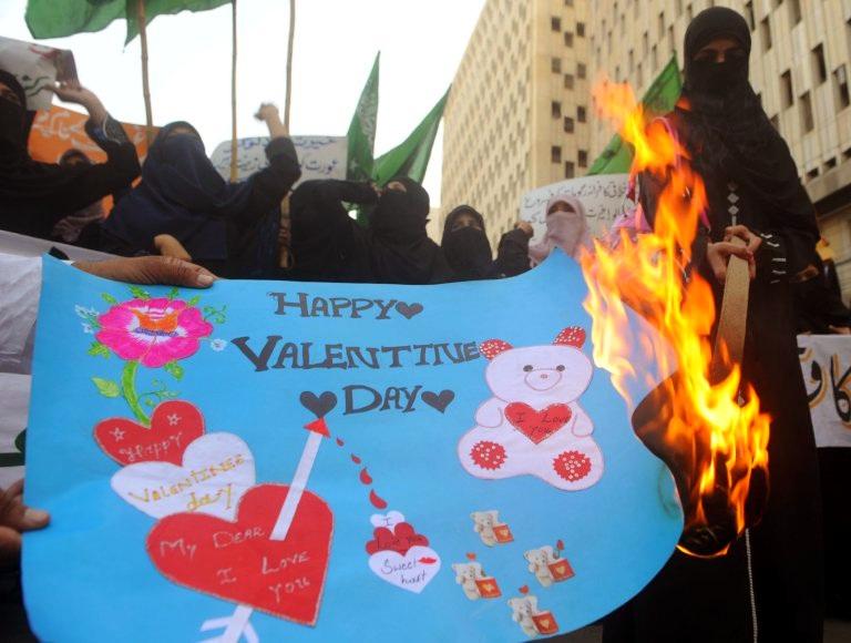Запрет на День Валентина у мусульман