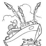Фото 64: Раскрасить боевой корабль