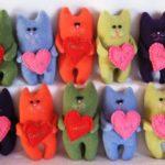 Фото 89: Котики из фетра на День Валентина