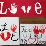 Фото 109: Валентинки с отпечатками