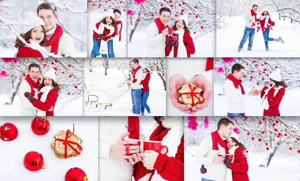 Фотосессия на День Влюбленных