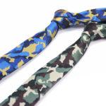 Фото 92: Роспись однотонных галстуков под камуфляж в подарок