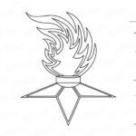 Фото 74: Как нарисовать вечный огонь