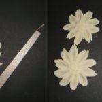 Фото 87: Как сделать цветы и листок из теста