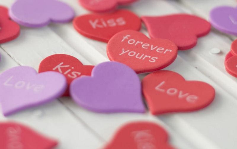 Марципан в подарок на День Валентина
