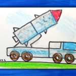 Фото 88: Нарисовать простую машину с ракетой