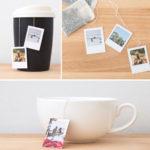 Фото 100: Подарочные фото ярлычки на чайные пакетики