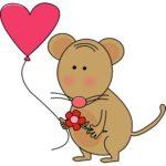 Фото 67: Мышка на День Влюбленных
