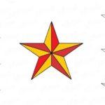 Фото 57: Нарисовать фронтовую звезду карандашом