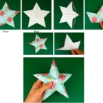 Фото 56: Сделать объемную звезду из бумаги своими руками