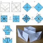 Фото 65: Сделать пароход оригами своими руками