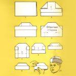 Фото 63: Сделать пилотку своими руками из бумаги в технике оригами