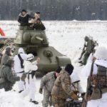 Фото 119: Историческая постановка военных действий на 23 февраля