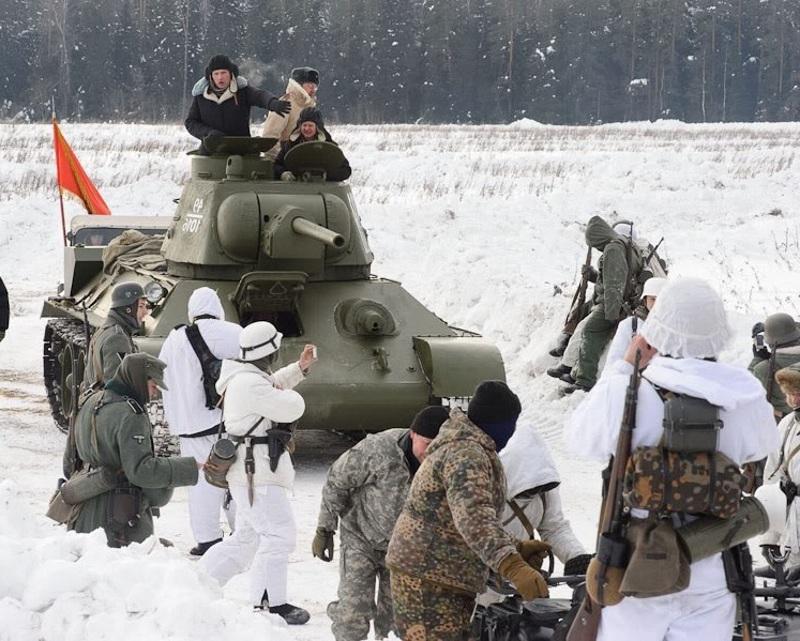 Историческая постановка военных действий на 23 февраля