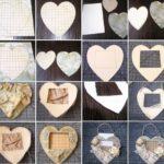 Фото 59: Рамка–сердце своими руками