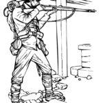 Фото 68: Скачать раскраску солдат–стрелок своими руками