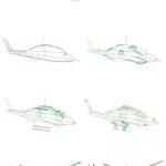 Фото 81: Урок рисования военного вертолета