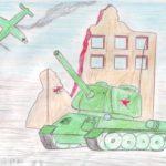 Фото 89: Военный рисунок карандашами своими руками