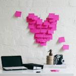 Фото 127: Сердце из стикеров