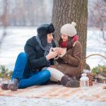 Фото 115: Романтический пикник зимой