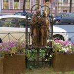Фото 36: Памятник Петру и Февронии в Санкт-Петербурге